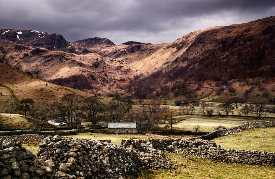 Stunning Lake District landscape near Ullswater