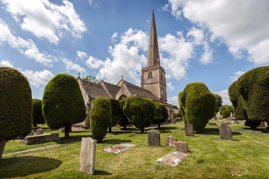 St. Mary's Church and ancient yew trees