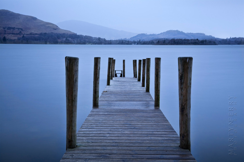 Cool image of Ashness jetty at dawn