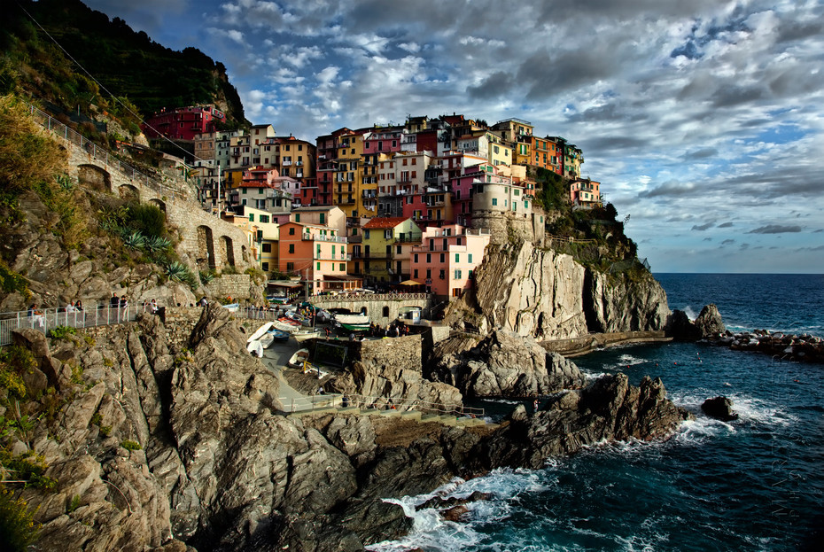 Manarola Afternoon Light - Italy