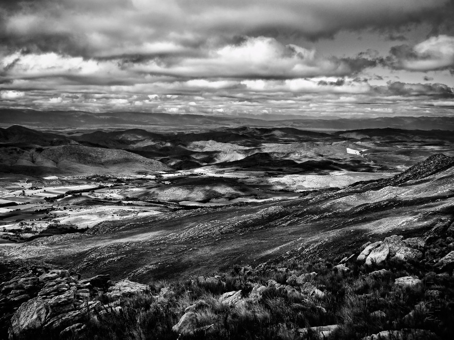 Landscape image from the Swartberg Pass