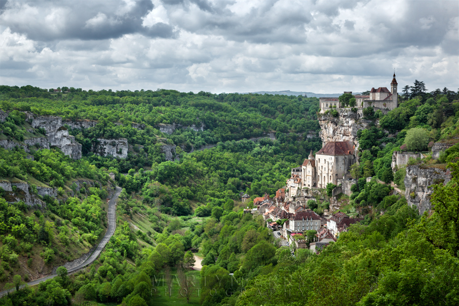Stunning photo of Rocamadour in the Dordogne valley