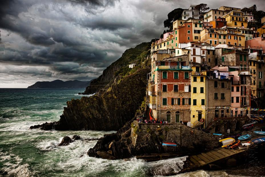 Romaggiore Stormy Light - Italy