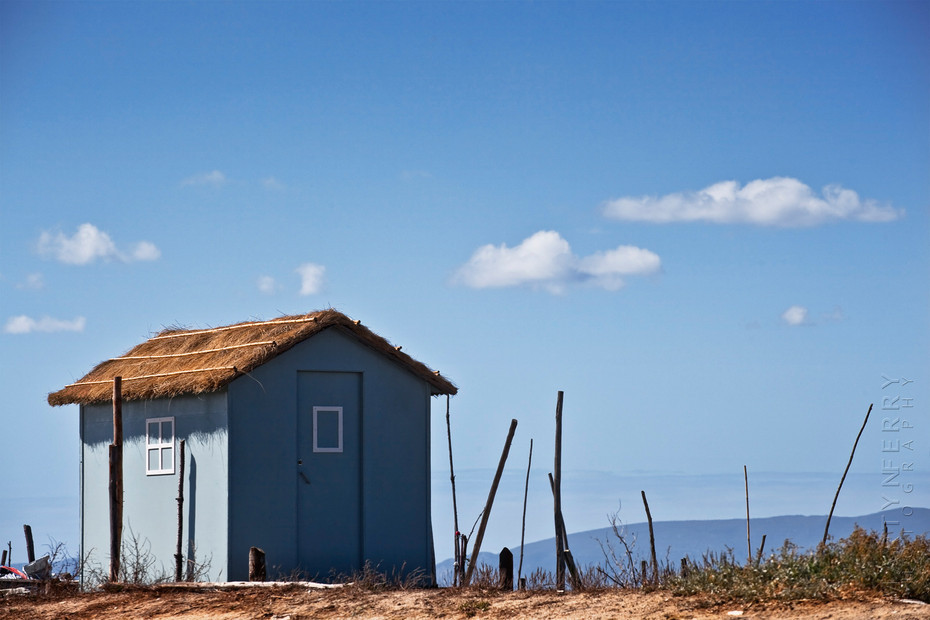 Beautiful fishing hut at Carrasqueira