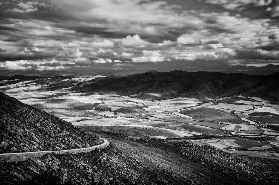 Stunning view if the Swartberg Pass