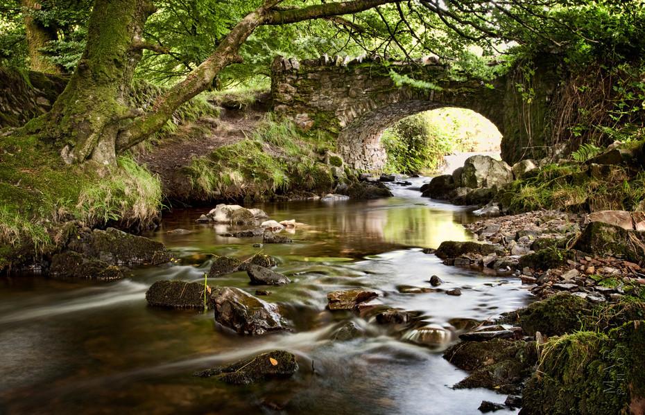 Photo of Robbers Bridge in Exmoor