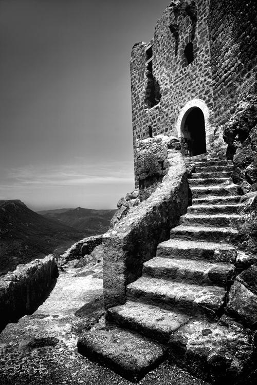 Cathar castle of Chateau de Quribus