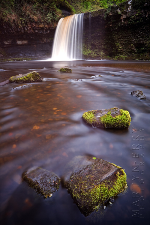 Photo of Lady Falls waterfall in the Brecon Beacons