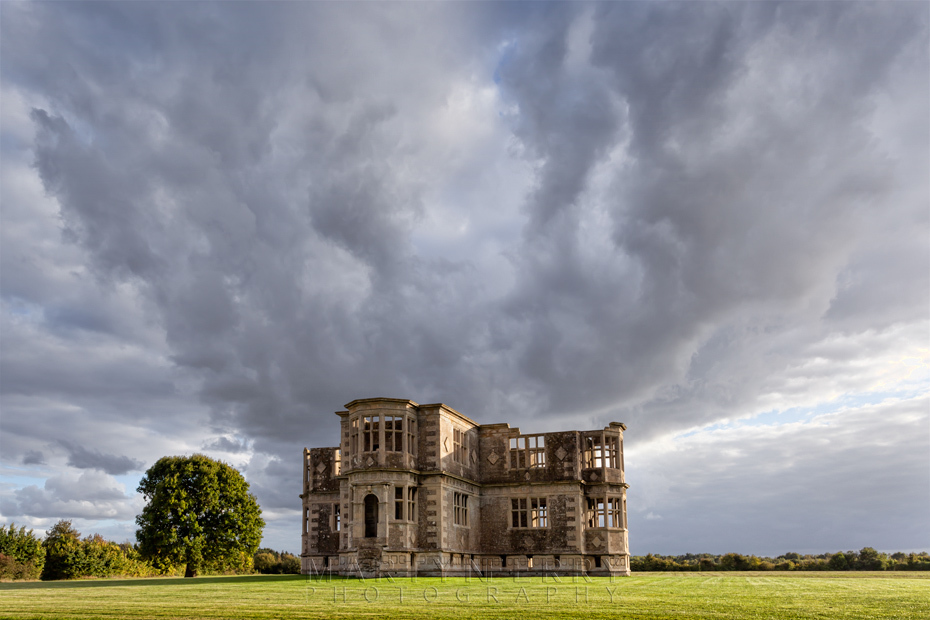 Liveden New Bield under an atmospheric sky in Northamptonshire