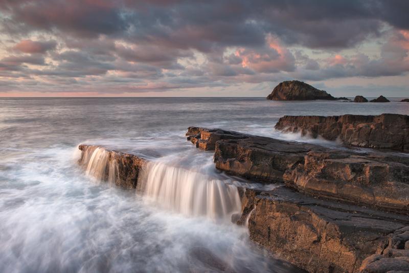 The Morning Flow - Isle of Man Seascapes/Coastal