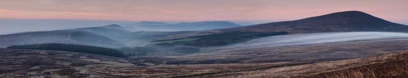 Glen Rushen Panoramic - Isle of Man Landscapes