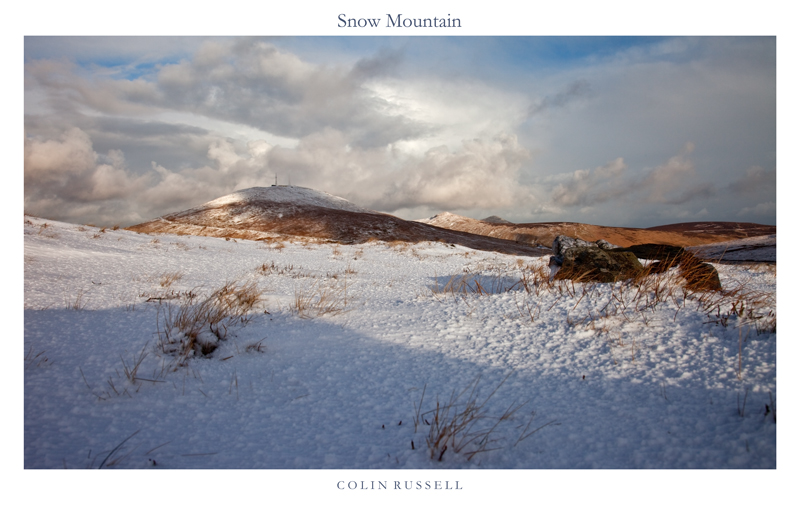 Snow Mountain - Isle of Man Landscapes