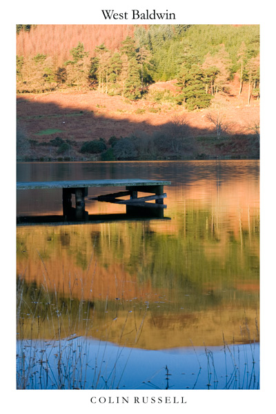 West Baldwin Reservior - Isle of Man Landscapes