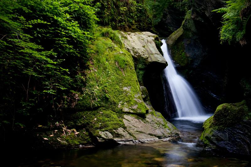 Glen Maye Waterfall - Manx National Glens