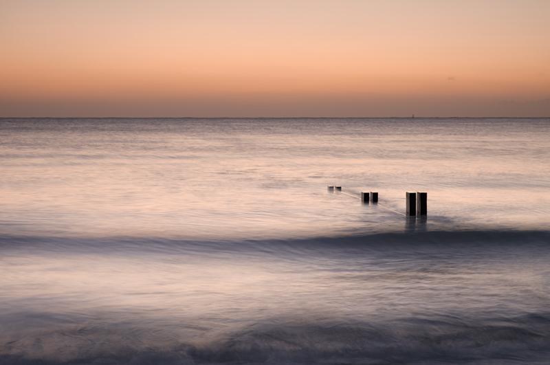 Twilight Groyne 2 - Isle of Man Seascapes/Coastal
