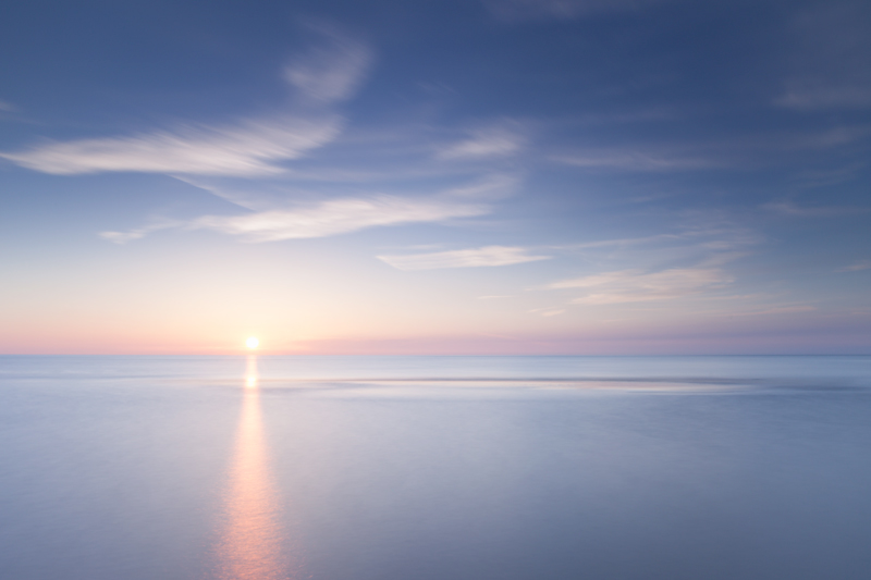 Sunset sandbank - Isle of Man Seascapes/Coastal