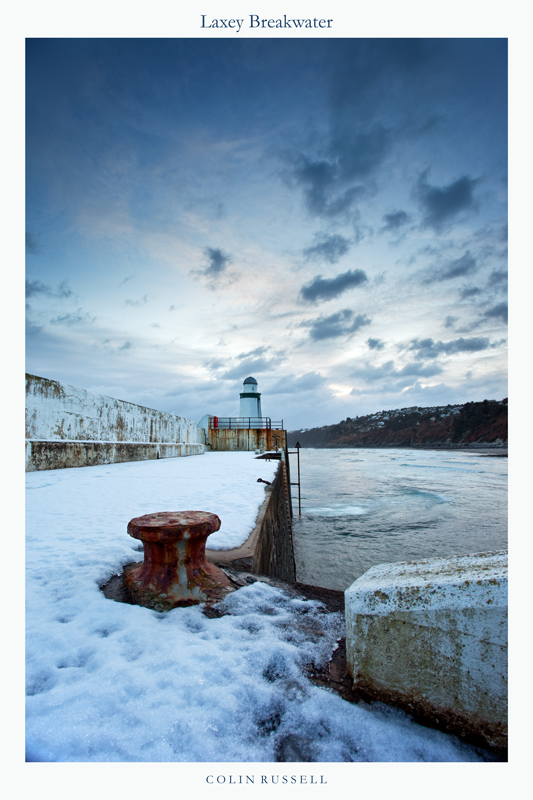 Laxey Breakwater - National Landmarks