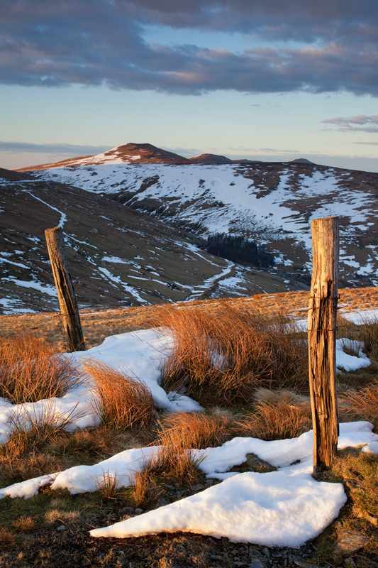Between the Posts - Isle of Man Landscapes