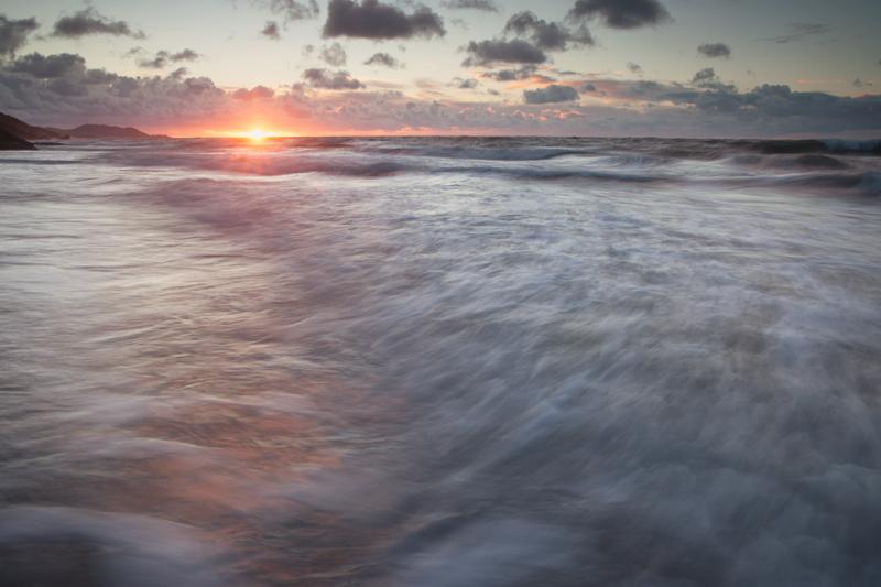 Knee Deep In January - Isle of Man Seascapes/Coastal