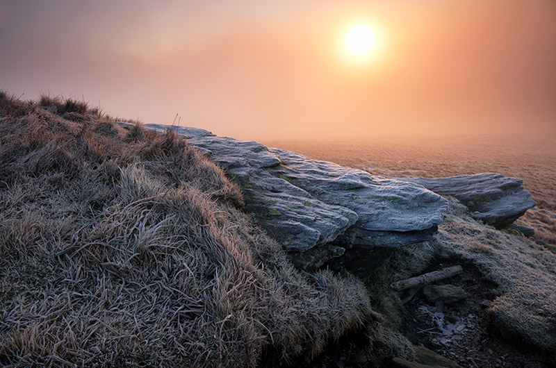 Frost on Sunday - Isle of Man Landscapes