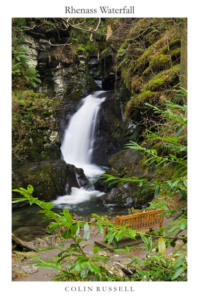 Rhenass Waterfall - Manx National Glens