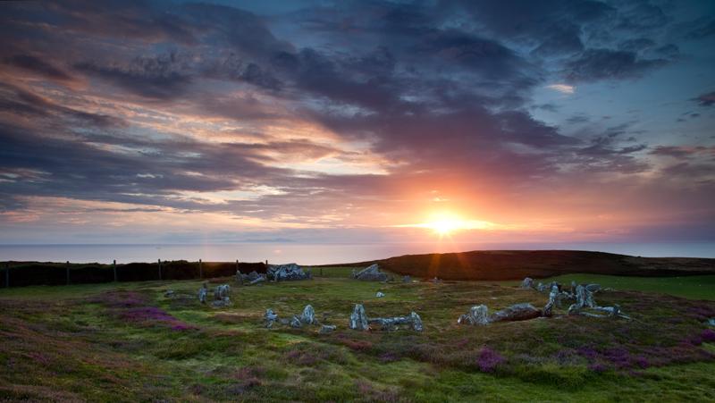 Meayll Stone Circle - National Landmarks