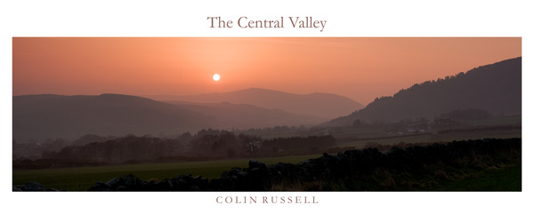 The Central Valley Panoramic - Isle of Man Landscapes