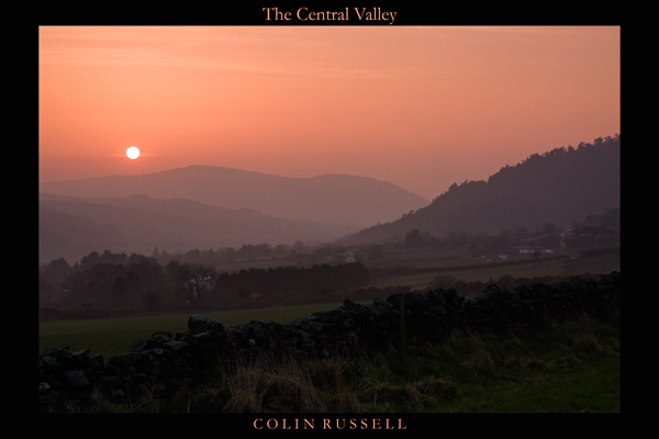 The Central Valley - Isle of Man Landscapes