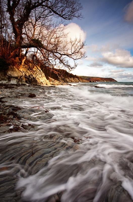 Garwick Bay Waves - Isle of Man Seascapes/Coastal
