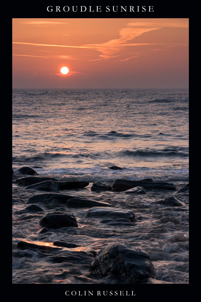Groudle Sunrise - Isle of Man Seascapes/Coastal