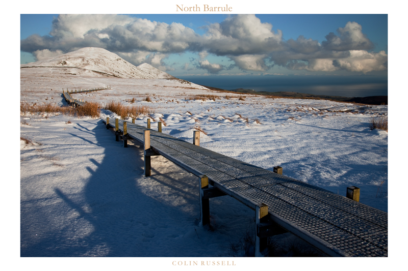 North Barrule Snow - Isle of Man Landscapes