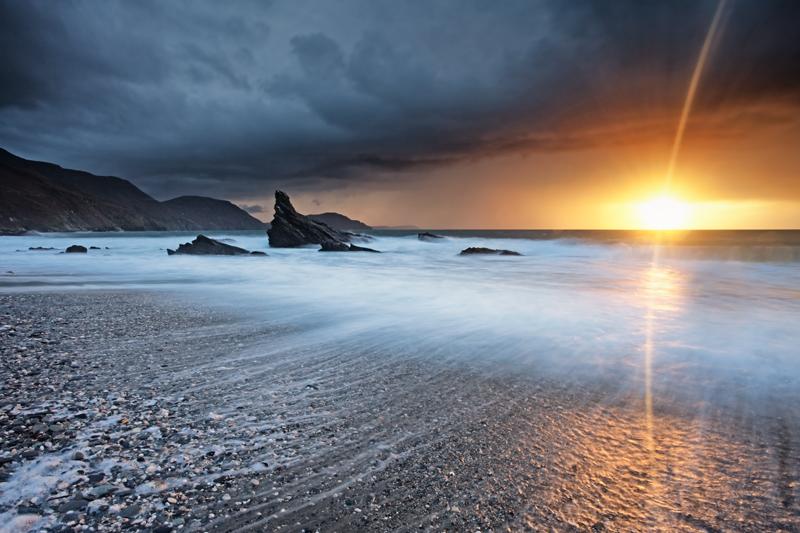 Trap the Spark - Isle of Man Seascapes/Coastal
