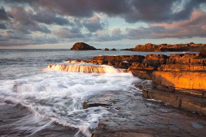 Sunshine Falls - Isle of Man Seascapes/Coastal