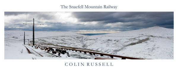 The Snaefell Mountain Railway - Isle of Man Landscapes