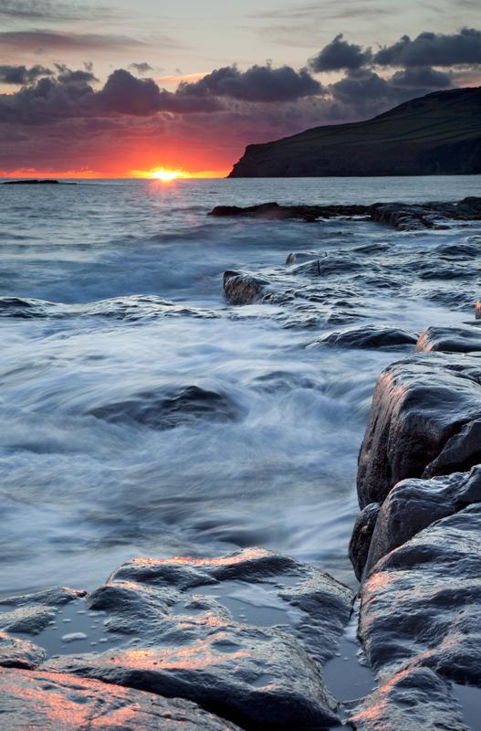 Into the Fire - Isle of Man Seascapes/Coastal