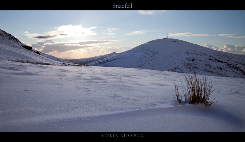 Snaefell Snow - Isle of Man Landscapes