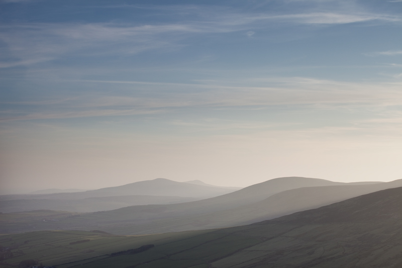 Hazy Hills - Isle of Man Landscapes