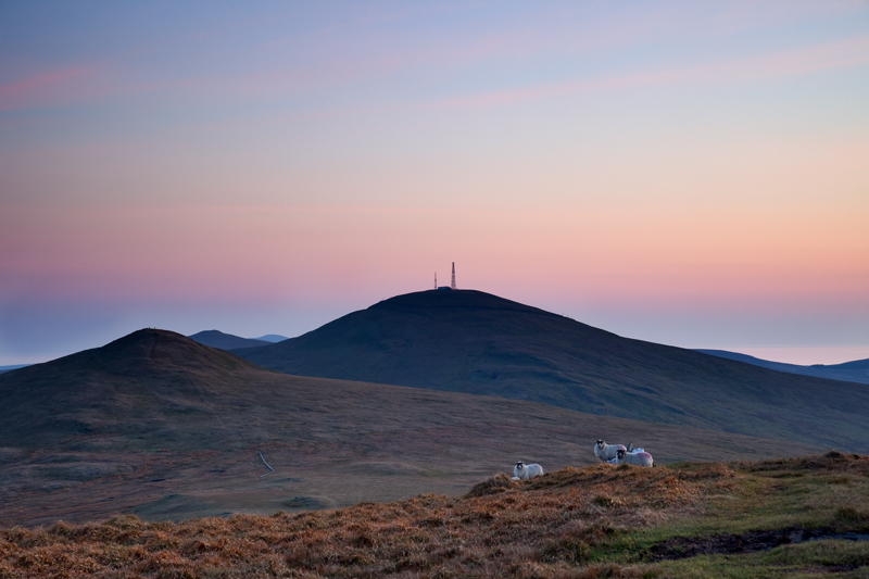 Dusk Descent - Isle of Man Landscapes