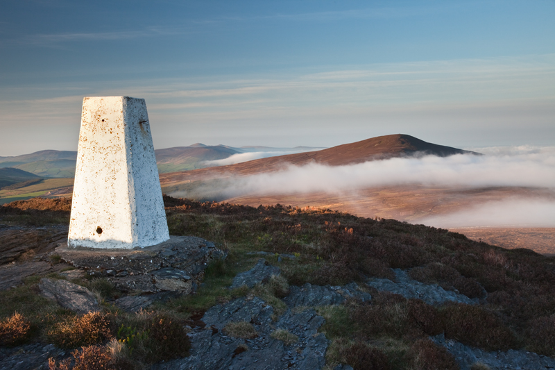 The Trig Point - Isle of Man Landscapes