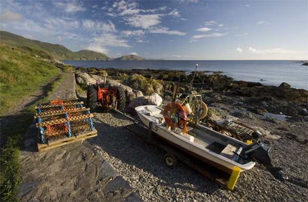 Summer Niarbyl Evening - Isle of Man Seascapes/Coastal