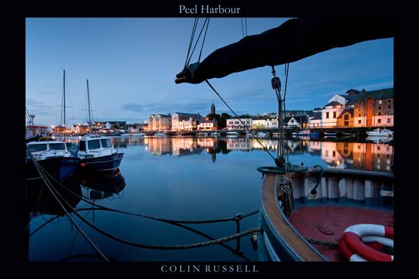 Peel Harbour - Isle of Man Seascapes/Coastal