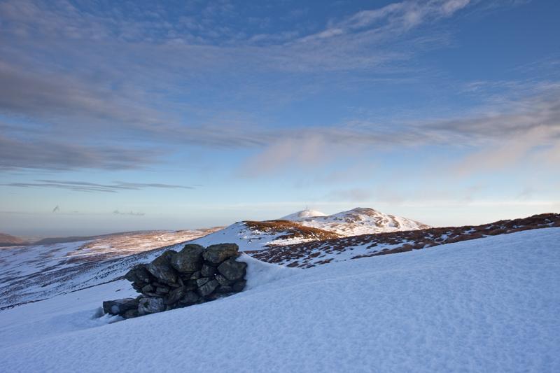 Walking in a Winter Wonderland - Isle of Man Landscapes