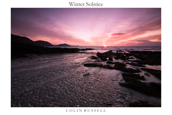Winter Solstice - Isle of Man Seascapes/Coastal