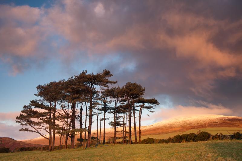 Snowcapped Barrule - Isle of Man Landscapes