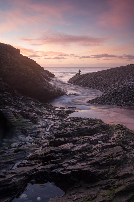 One Man and His Dogs - Isle of Man Seascapes/Coastal