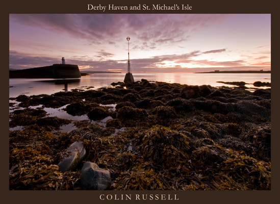 Derby Haven and St.Michael's Isle - Isle of Man Seascapes/Coastal