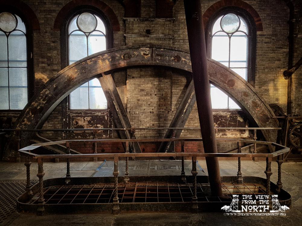 Crossness Pumping Station Flywheel