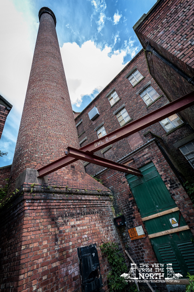 Urban Exploration (Urbex) of Ainscough Flour Mill, Burscough