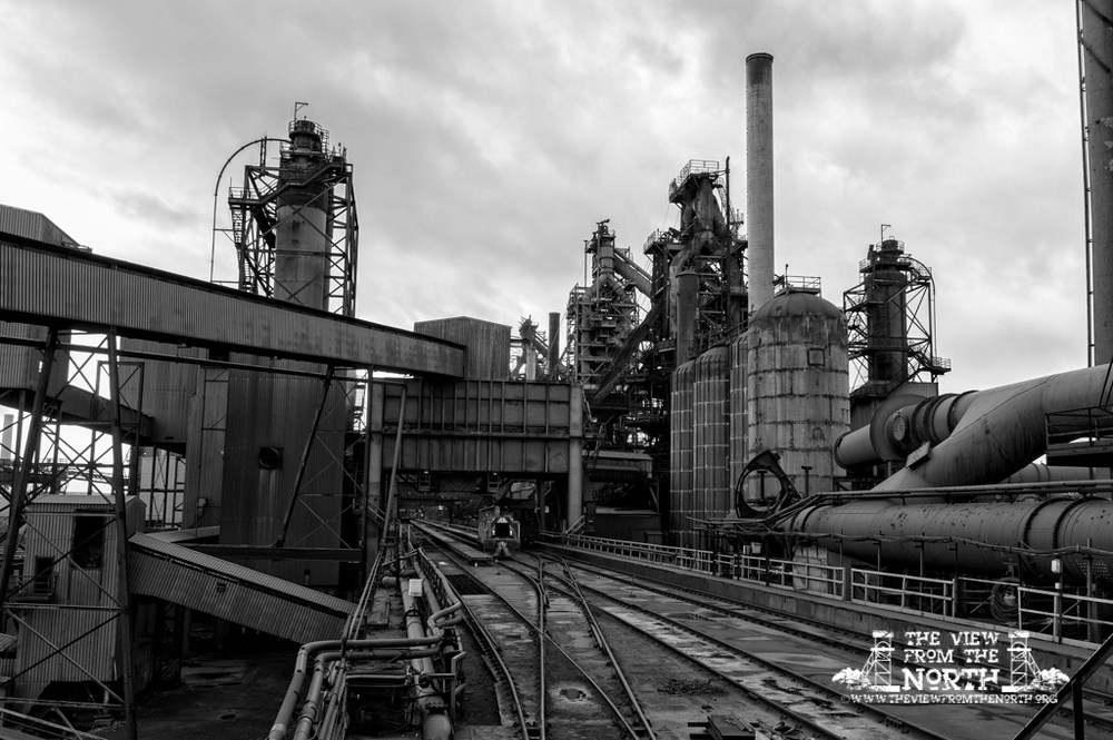The industrial landscape of the UK steel industry