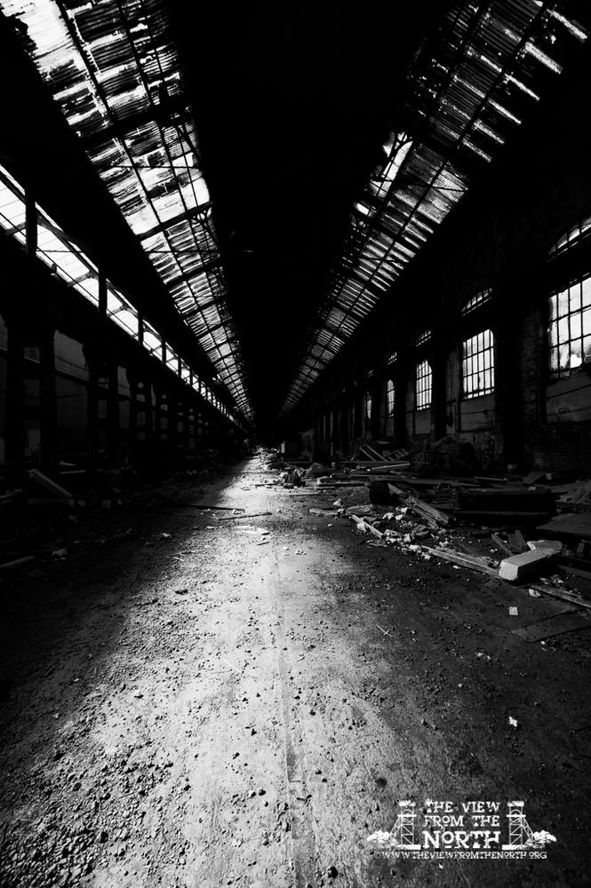 Industrial Landscape and Urban Exploration Portfolio